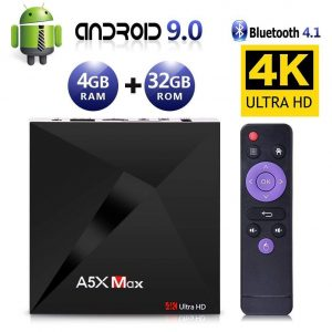 Android TV box con 4 gigas de RAM
