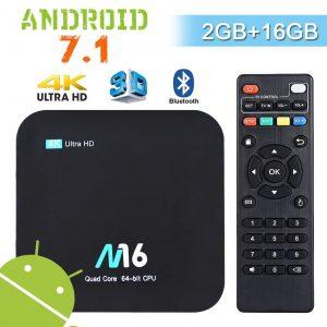 Android TV box con gran calidad de imagen