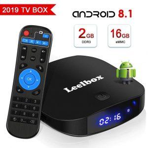 Android TV box con Micro SD