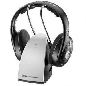Auriculares inalámbricos Sennheiser negro y plata