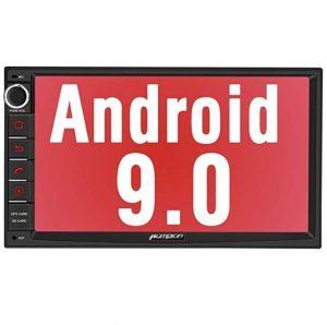 """Autoradio 2 DIN Android 9.0 con asistente de voz y 7"""" de pantalla"""