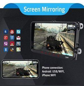 Autoradio 2 DIN Android 9.0 con pantalla táctil capacitiva y regalo de Canbus