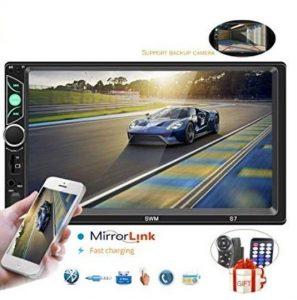 """Autoradio 2 DIN de 7"""" de pantalla táctil con MP5"""