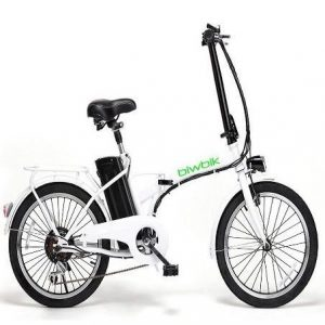 Bicicleta eléctrica plegable BiwBik Book 200