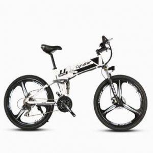 Bicicleta eléctrica plegable Cyrusher