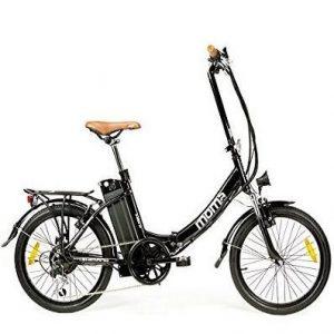 Bicicleta eléctrica plegable Moma Bikes