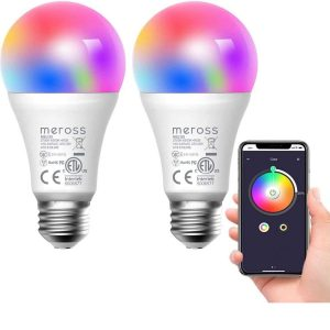 Bombilla LED inteligente compatible con Alexa