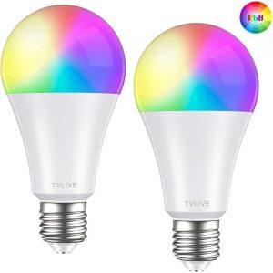 Bombilla LED inteligente con ajustes horarios
