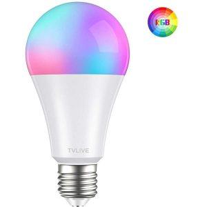 Bombilla LED inteligente con control remoto