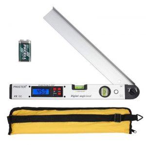 Buscador de ángulos con indicador LCD de Proster