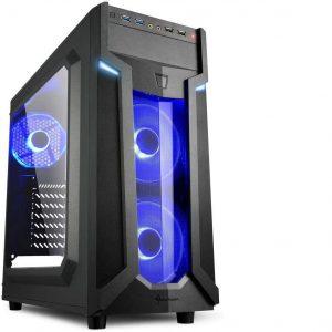 Caja para PC gaming azul