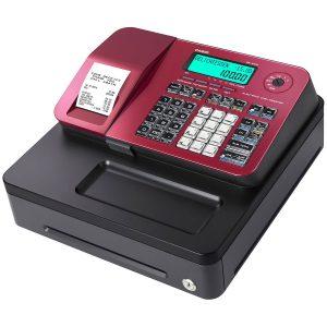 Caja registradora Casio con pantalla LCD