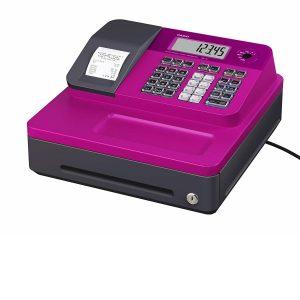 Caja registradora Casio fucsia