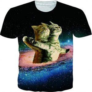 Camiseta unisex graciosa gatitos