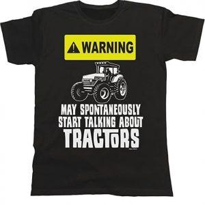 Camiseta unisex graciosa tractor