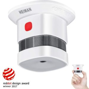 Detector de incendio con alarma superior