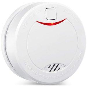 Detector de incendio con verificación automática