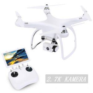 Dron cuadricóptero con cámara Full HD