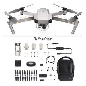 Dron DJI Mavic Pro Platinum con cámara 4K
