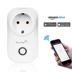 Enchufe Inteligente WiFi Inalámbrico con Control Remoto