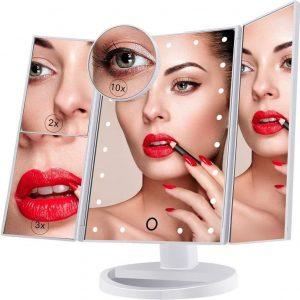 Espejo con luz LED de calidad premium