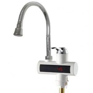 Grifo eléctrico con indicador de temperatura