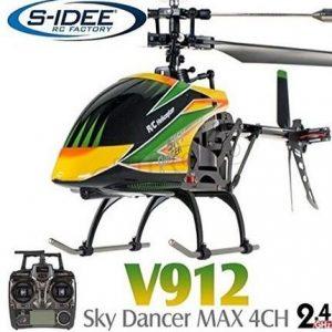 Helicóptero de radiocontrol eléctrico S-idee