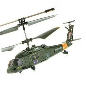 Helicóptero de radiocontrol eléctrico Syma Rc Balckhawk