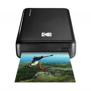 Impresora de fotos portátil mini