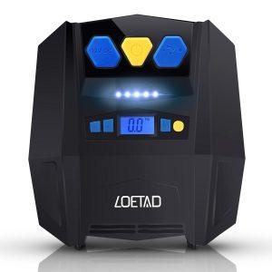 Inflador eléctrico con luz LED