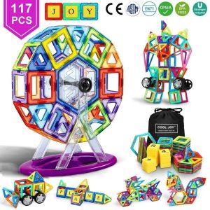 Juguete magnético para niños con bolsa