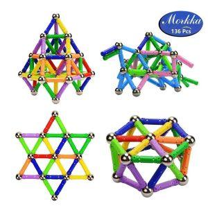 Juguete magnético para niños palos