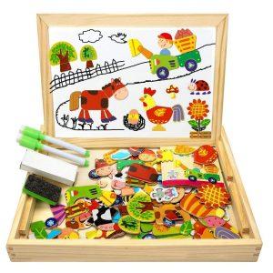 Juguete magnético para niños pizarra