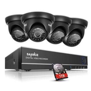 Kit de 4 Cámaras de Vigilancia Seguridad