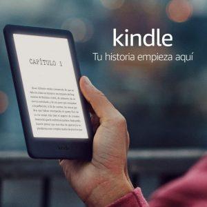 Lector de ebooks con luz frontal