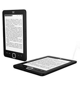 Lector de ebooks negro