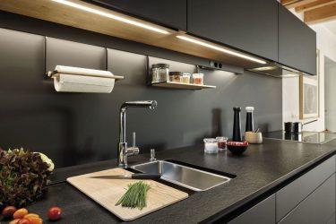 Grifos de cocina con luces LED