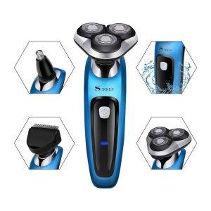 Máquina de afeitar eléctrica 3 en 1