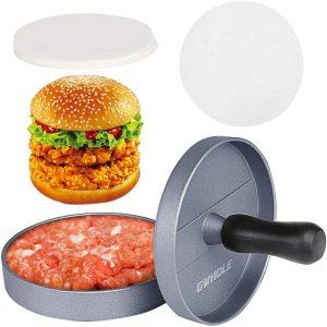 Máquina para hacer hamburguesas antiadherente