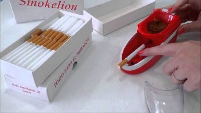 Máquinas de liar tabaco eléctricas