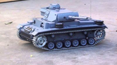 Tanques radiocontrol