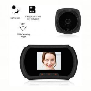 Mirilla digital con grabadora de vídeos