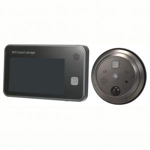 Mirilla digital con grabadora inalámbrica