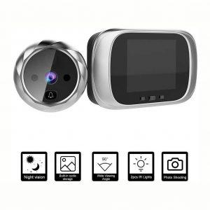 Mirilla digital con grabadora visión nocturna