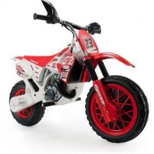 Moto eléctrica para niños Enduro con casco Injusa