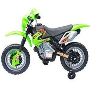 Moto eléctrica para niños Homcom estilo motocross