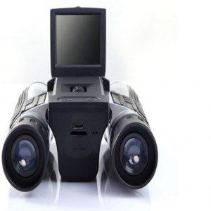 Prismáticos con cámara para senderismo