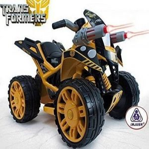 Quad eléctrico para niño Injusa The Beast Bumble