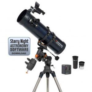 Telescopio astronómico con reflector