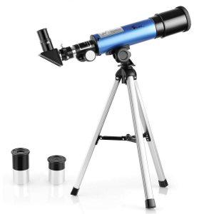 Telescopio astronómico para niños